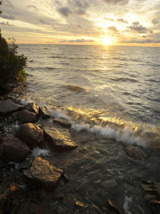 Lake huron lake michigan see increase in water clarity lake huron file buy photo sciox Gallery