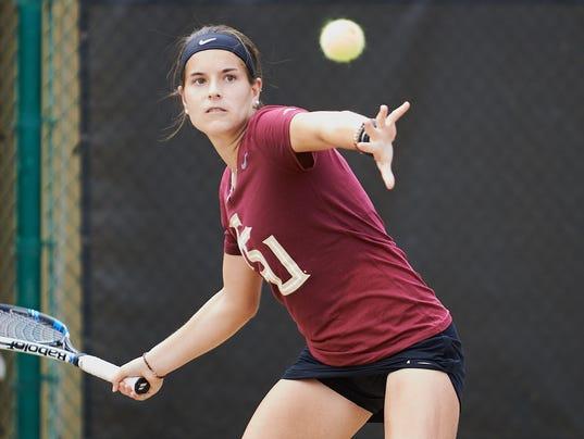 NCAA:  FSU Women's Tennis fall to UNC 4-3