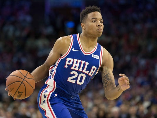NBA: Boston Celtics at Philadelphia 76ers