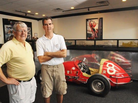 Harold Cottongim and his son, Eric Cottongim, at their
