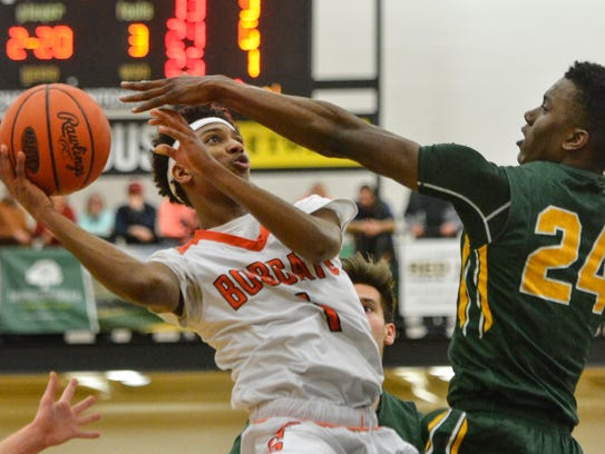 Brandon Coleman (left) scored 16 points to help the