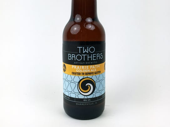 Prairie Path Golden Ale, Two Brothers Artisan Brewing,
