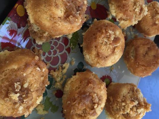 Butterscotch Buns are a sweet brunch accompaniment.