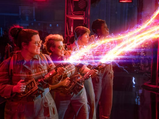 Old 'Ghostbusters' fans took umbrage with the new crew:
