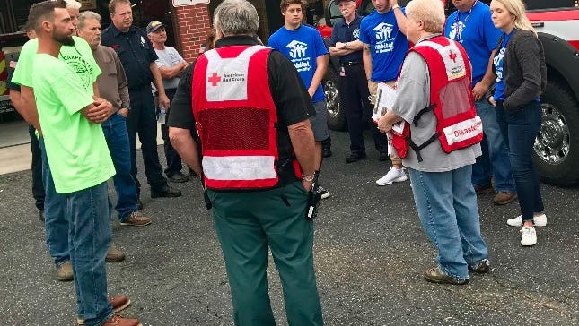 Cumberland County Habitat for Humanity teamed up with Carpenters Union Local 2555, Millville Fire Department and the American Red Cross on Oct. 14 to promote fire safety.
