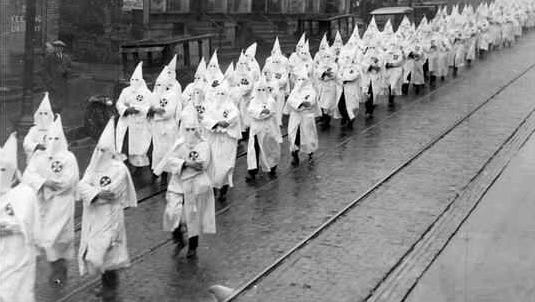 On Oct. 5, 1924, the KKK held a rally in Madison with upwards of 2,000 people attending. Highlights of the rally were speeches by Klan members and the lighting of a 40-foot cross.