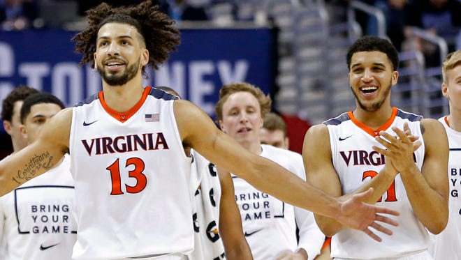 Virginia enters the tournament as a No. 1 seed.