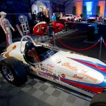 A.J. Foyt's 1964 winning roadster is one of several cars fans can see at PIR's Memory Lane exhibit, looking back at 50 years of racing at the track.