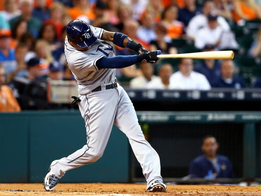 USP MLB: TAMPA BAY RAYS AT HOUSTON ASTROS S BBA USA TX