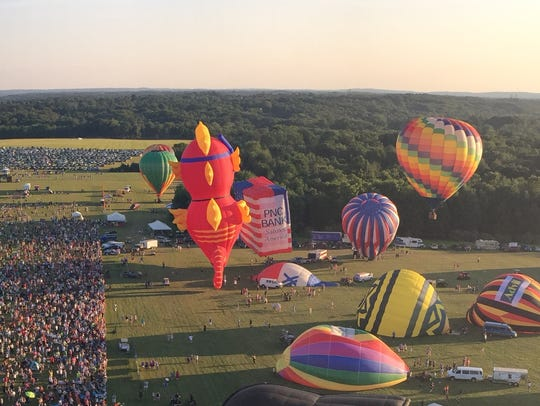 The 34th annual QuickChek New Jersey Festival of Ballooning