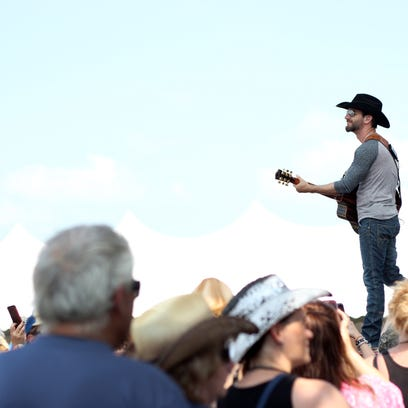 Craig Campbell performs during the CountryLife Music
