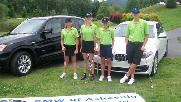 The Biltmore Cup golf tournament was held Saturday and Sunday in Henderson County.