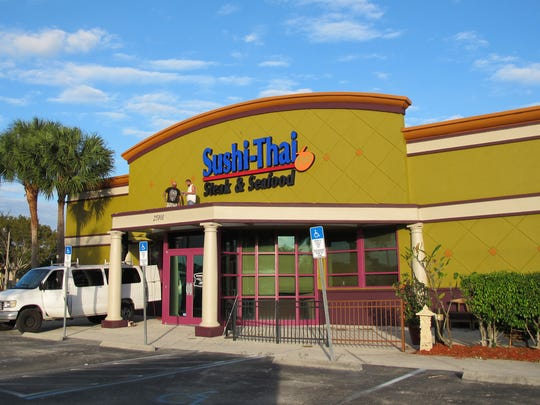 Sushi-Thai Too in Bonita Springs' Prado moved a short distance in the same shopping center to the former freestanding space of Big Al's City Sports Grill.