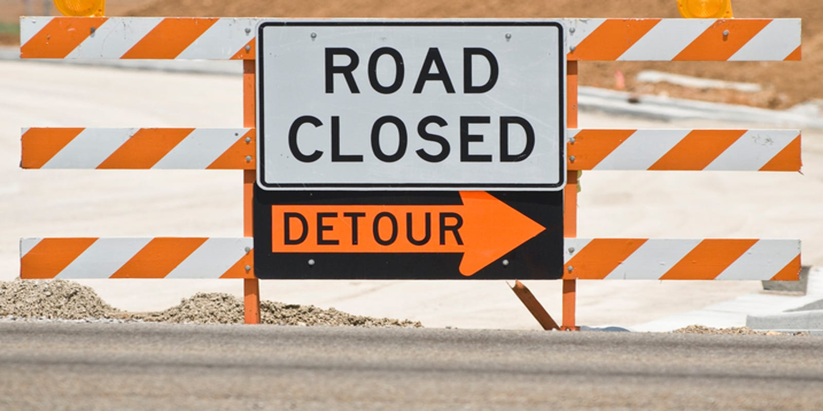 Rochester road at I-75 in Troy closed at night until Friday morning