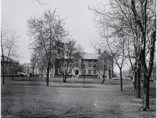 Lucina Hall is pictured in 1967.