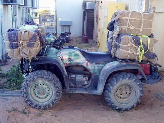 Border Patrol finds ATV