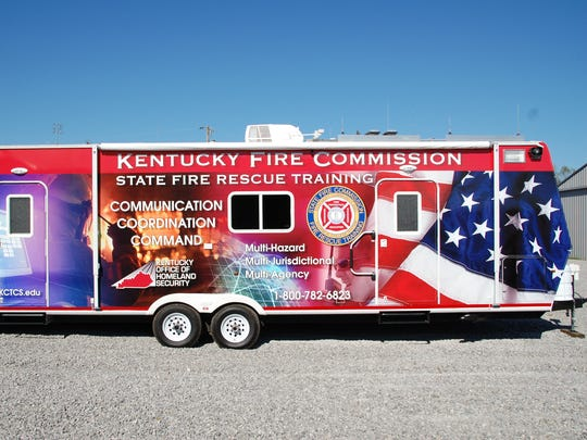 Kentucky Fire Commission's command center vehicle will
