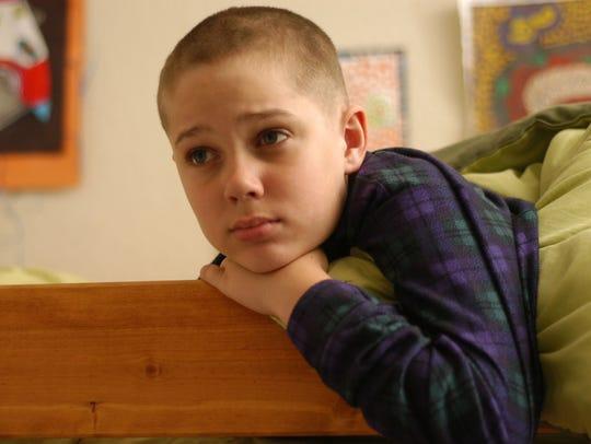 Ellar Coltrane as Mason at age 9 in a scene from the