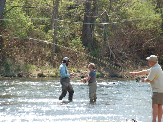 Virginia Fly Fishing and Wine Festival in 2014.