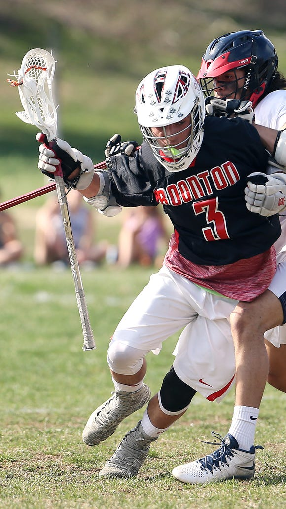 Boonton's Ryan Lourick carries the ball through the midfield in a game against North Warren last spring.
