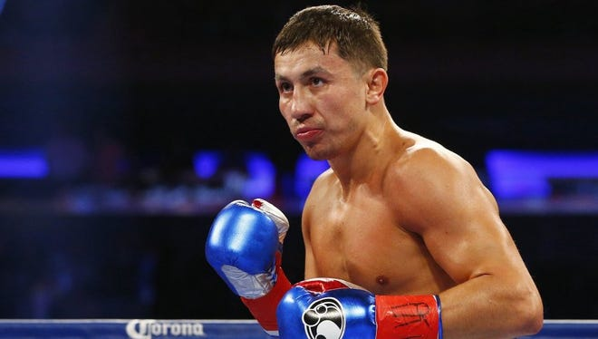 Gennady Golovkin will defend his multiple world title belts against middleweight contender Daniel Jacobs on Saturday at Madison Square Garden.