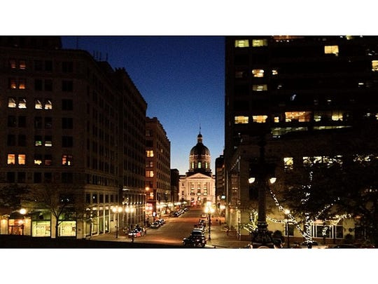 Three Igers Indy members provided pictures of Indy's most Instagram-worthy places. Seen here: The Indiana Statehouse.