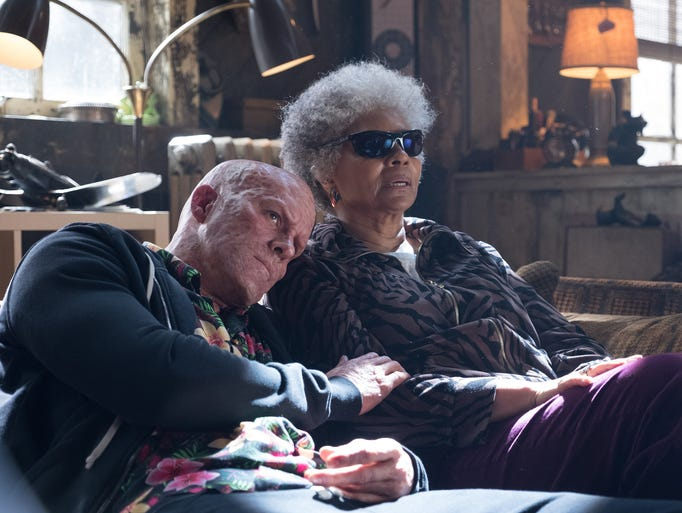 "Ryan Reynolds and Leslie Uggams star in ""Deadpool 2."""