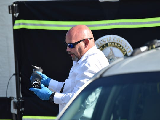 The St. Lucie County Sheriff's Office investigates