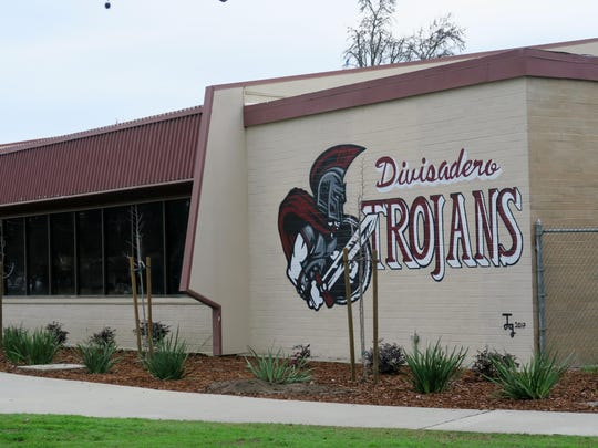 Divisadero Middle School in Visalia.