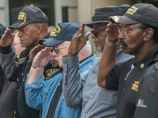 On Veterans Day, the Vietnam Veterans of America held