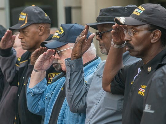 On Veterans Day, the Vietnam Veterans of America held