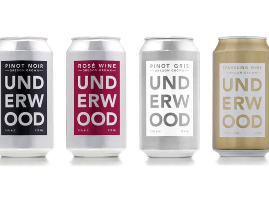 Underwood wines are available in cans as well as bottles.