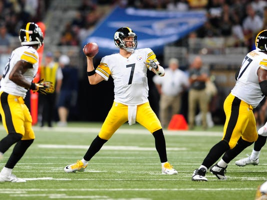 USP NFL: PITTSBURGH STEELERS AT ST. LOUIS RAMS S FBN USA MO