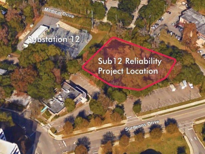 Sub 12 Project location