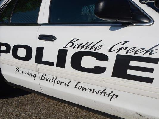 Battle Creek Police cruiser