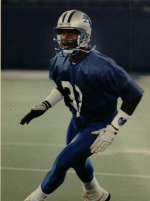 The Lions' Ray Crockett was a cornerback but played a hybrid style that also gave him linebacker duties.