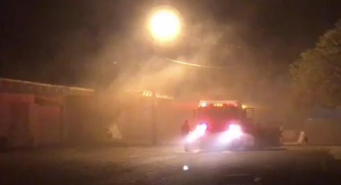 & Fire reported at U Rent It in Merritt Island