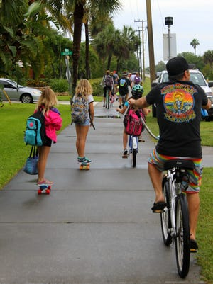 Sidewalks, bike lanes and trails of all kinds are planned and managed by the Space Coast TPO.