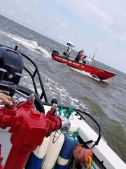 """The Little Creek Volunteer Fire Company will team up with Bowers Beach to patrol the waters of the Delaware Bay should a pilot need to ditch during the """"Thunder Over Dover"""" air show on Saturday and Sunday."""