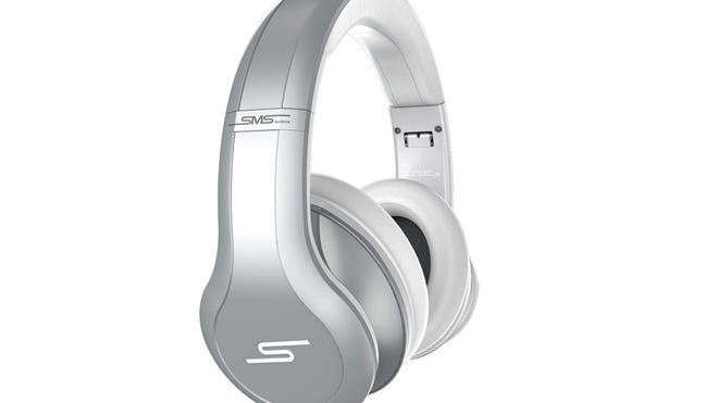 """The SMS Street by 50 ANC is a boutique headset from rapper Curtis """"50 Cent"""" Jackson's SMS Audio."""