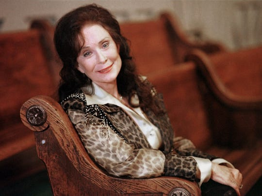 Country music great Loretta Lynn is shown in this September