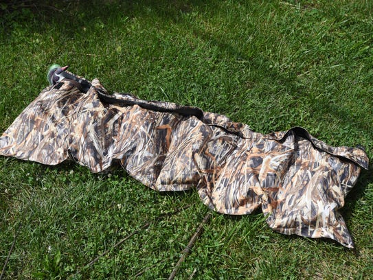 The DuckPockets pouches hold six decoys, and can be