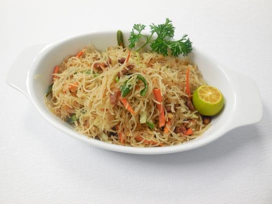Pancit Bijon at The Magayon Restaurant on U.S. 41 at