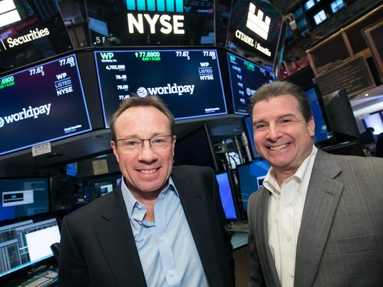 The New York Stock Exchange welcomes Vantiv and Worldpay,