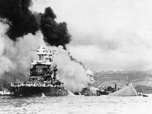 PEARL HARBOR USS MARYLAND