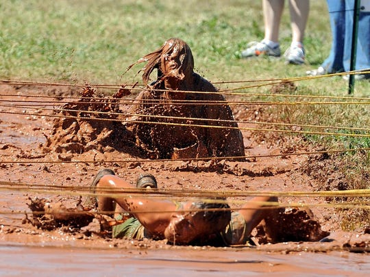 Texoma's Hellacious Obstacle Run (T.H.O.R.) is guaranteed to muddy you up. The event returns to Lucy Park April 8.