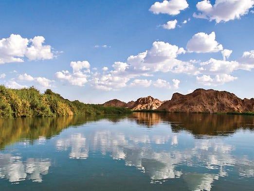 Ubicado en la frontera suroeste entre Arizona y California,