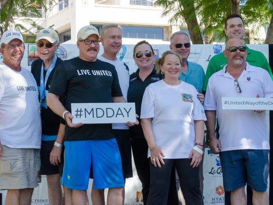 United Way of the Desert board members supporting Make