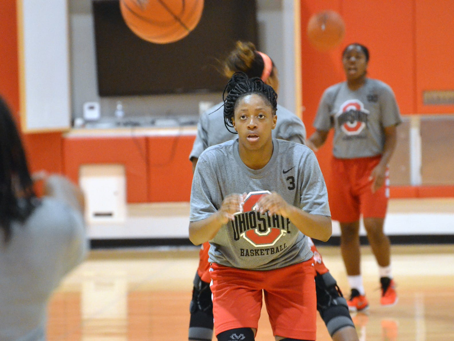 Kelsey Mitchell was named the Big Ten preseason player of the year this month.