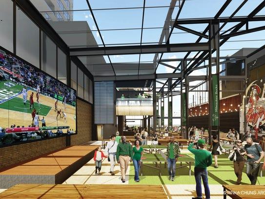 The Milwaukee Bucks released new renderings of a beer
